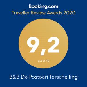 Award B&B Terschelling De Postoari